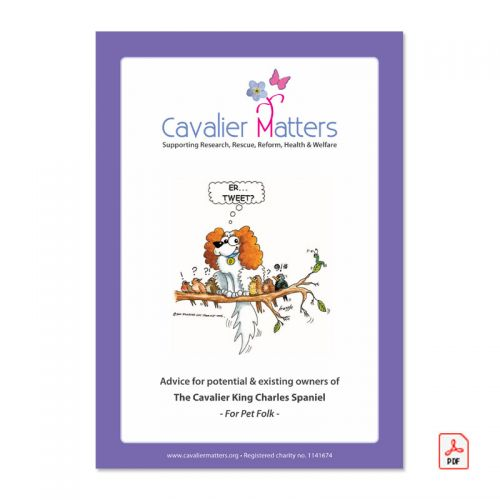 Cavalier Matters Downloadable PDF Booklet