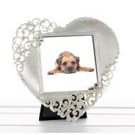 Silver Heart Frame