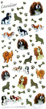Cavalier Craft Stickers