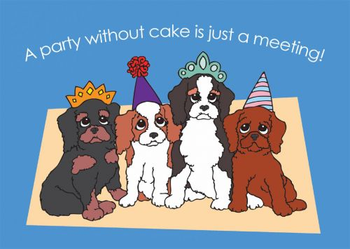 Party Without Cake Birthday Card
