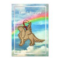 Loved Forever Cavalier Condolence Card