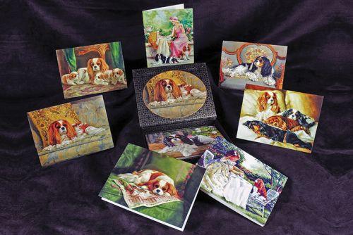 Pamela Hall Cavalier Cards Boxed Set