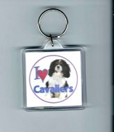 I love Cavaliers Keyrings