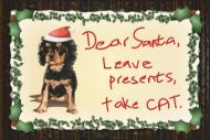 Cavalier Christmas Magnets Large