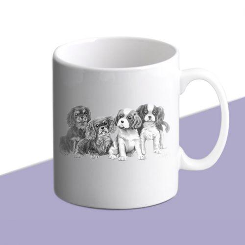 Pencil Puppies Mug