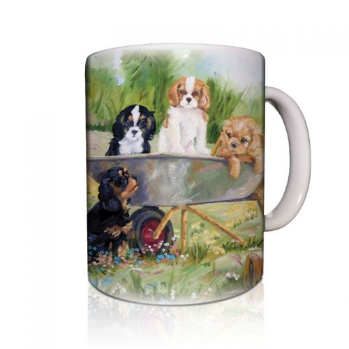 Flower Pot Pups Mug