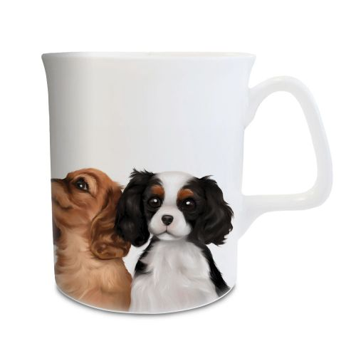 Cavalier Puppy Kisses Mug