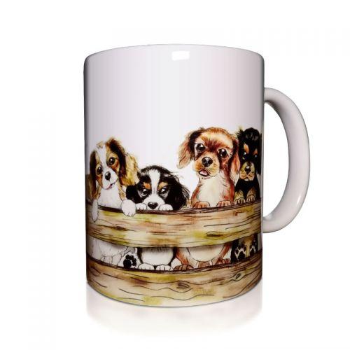 I Love You Puppyrama Mug