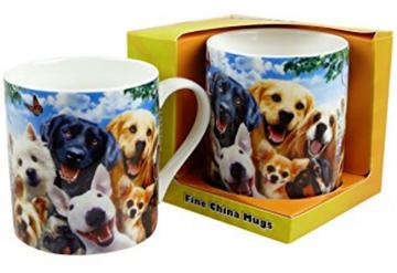 Dog Selfies Mug
