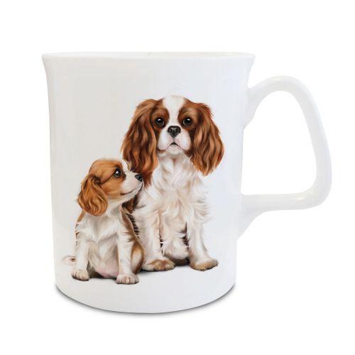 Mum & Pup Bone China Mug
