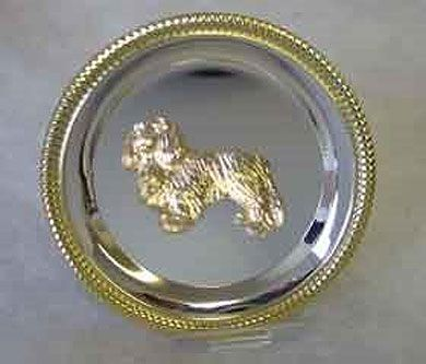 Cavalier Salver 22ct Gold Plate