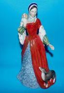 Rare Royal Doulton Anne Boleyn Limited edition
