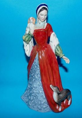 Rare Royal Doulton Anne Boleyn Limited edition