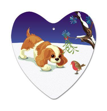 Aluminium Heart Christmas Decoration
