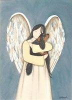 In the Arms of an Angel Print Unmounted