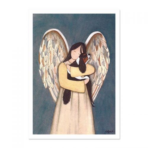 In the Arms of an Angel - A5 Print