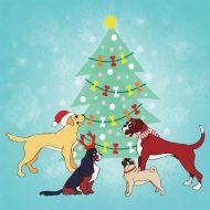 Bones Galore Christmas Card