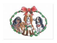 Christmas Pudding Card pack of 5