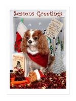 Christmas Cheeky Charlie Card