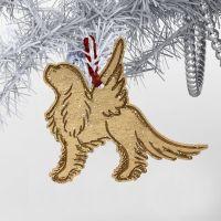 Cavalier Angel Christmas Decoration