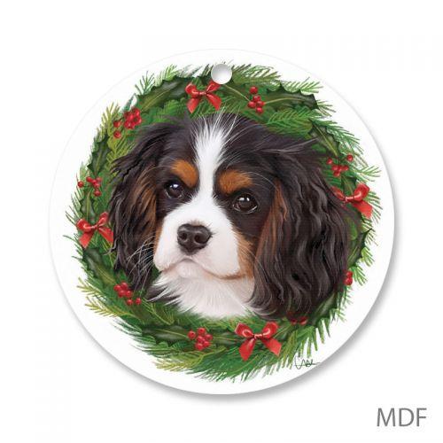 Cavalier Wreath Christmas Decoration
