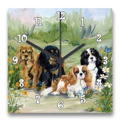 Flower Girls Clock