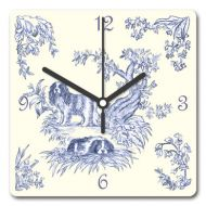 Toile Effect Clock