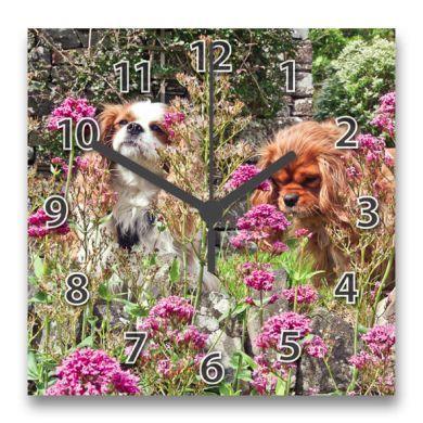 The Garden Girls Clock