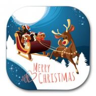 Christmas Cavaliers Coaster
