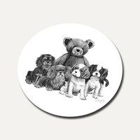 Our Teddy Round Coaster