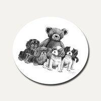 Our Teddy Round Coaster