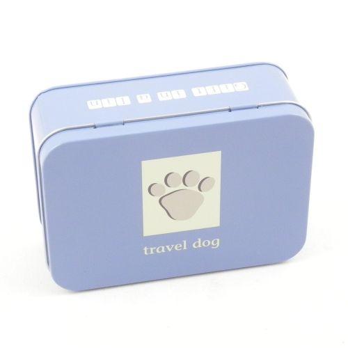 Travel Dog Tin