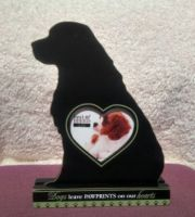 Cavalier Love Photo Frame