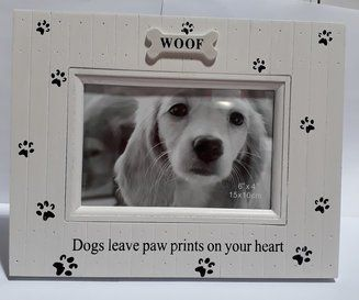 'Pawprints' Photo Frame