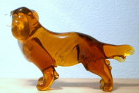 Hand blown Murano style glass collectable Cavalier