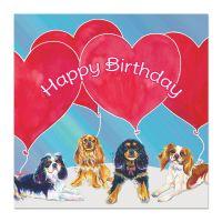 Big Balloons Birthday Card