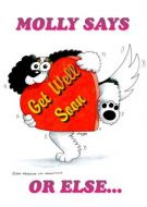 Molly and Dougall Get Well Soon Card