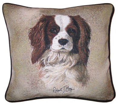 Blenheim Cavalier Jacquard Tapestry Cushion