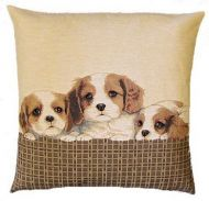 Cavalier Tapestry Cushion
