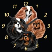Bohemian Beauties 190mm Clock