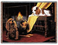 Cavaliers By The Fireside Throw