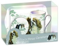 Tray with Matching Mug and Coaster