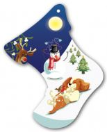 Play Pups Christmas Stocking Decoration