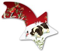 Play Pups Comet Christmas Decoration