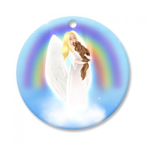 Rainbow Angel Cavalier Keepsake