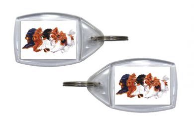 Flying Cavaliers Keyring