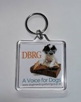 Dog Breeding Reform Group Keyring