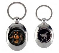 Bohemian Beauties Trolley Token Keyring
