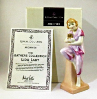Royal Doulton Lido Lady with puppy