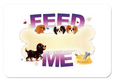 Cavalier Pups Feeding Mat